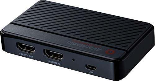 AVerMedia Live Gamer Mini 1080p60 Capture Card, Plug and Play USB 2.0 for Beginners and Professionals, Compatible with Nintendo Switch, Play Station 4, Xbox, iPhone, iPad (GC311)