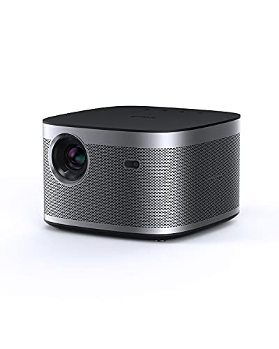 XGIMI Horizon Full HD Beamer,Heimkino Beamer Unterstürzt 4K,2200 ANSI Lumen,DLP Beamer mit WiFi Bluetooth 8W Harman/Kardon Lautsprecher,Android TV 10.0 Videoprojektor,Autofokus,kompatibel mit HDMI