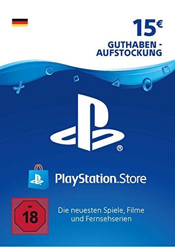 PSN Card-Aufstockung | 15 EUR | deutsches Konto | PSN Download Code