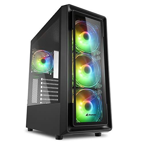 Sharkoon TK4 RGB, PC Gehäuse