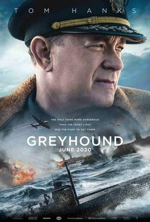 Greyhound – Tom Hanks – U.S Film Poster Plakat Drucken Bild - 30.4 x 43.2cm Größe Grösse Filmplakat