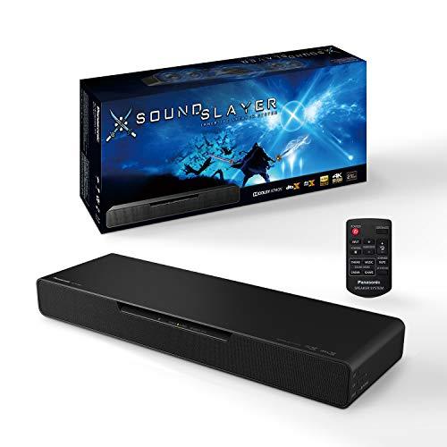 Panasonic SC-HTB01 PC Gaming Lautsprecher mit integriertem Subwoofer (Dolby Atmos und DTS:X, Bluetooth, High-Resolution Audio, HDMI) schwarz