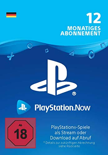(-25% Angebot) PlayStation Now -  Abonnement 12 Monate | PS4 Download Code - deutsches Konto