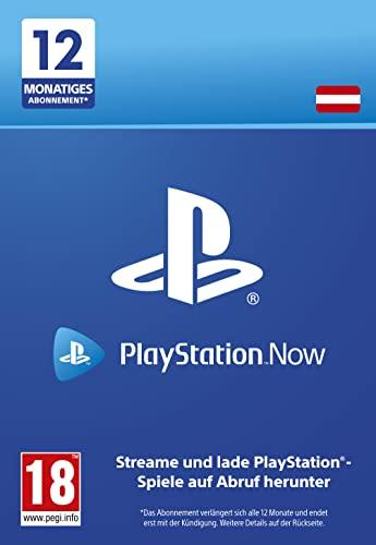 PlayStation Now - Abonnement 12 Monate (österreichisches Konto) | PS5/PS4/PS3 Download Code - österreichisches Konto
