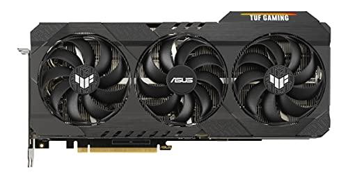ASUS TUF GeForce RTX 3070 TI 8GB Gaming Grafikkarte (Nvidia Ampere, PCIe 4.0, DLSS, Raytracing, GDDR6 Speicher, 2x HDMI 2.1, 3x DisplayPort 1.4a, TUF-RTX3070TI-8G-GAMING)