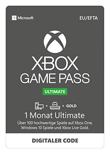 Xbox Game Pass Ultimate | 1 Monate Mitgliedschaft | Xbox/Win 10 PC - Download Code