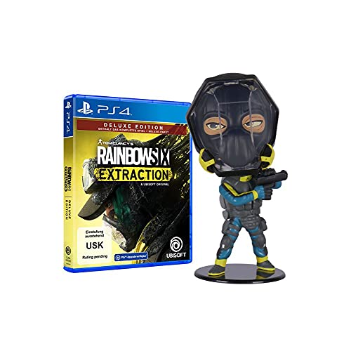 Rainbow Six Extraction - Deluxe Edition (kostenloses Upgrade auf PS5) - [PlayStation 4] + Ubisoft Six Collection - Lion Figur (Rainbow Six Extraction)