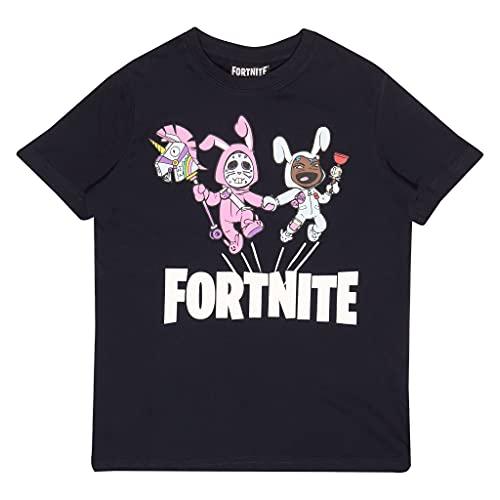 Fortnite Bunny Trouble Jungen-T-Shirt Marine 176