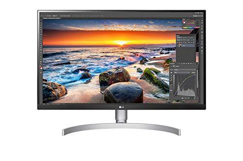 LG 27UL850-W 68,58 cm (27 Zoll) UHD 4K Monitor (IPS-Panel, USB Type-C, VESA DisplayHDR 400), schwarz weiß