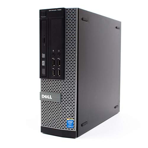 DELL Optiplex 7020 SFF Ultra Fast Desktop Computer - Intel i7-4770K 16GB DDR3 RAM 480GB SSD Solid State Disk Windows 10 Pre-Installed and Activated - WiFi Connection Included (Renewed)