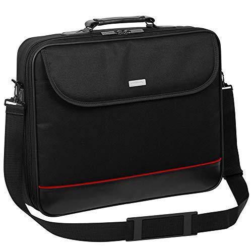 Laptop Tasche passend für Gigabyte Aero 15 RTX 20 | Notebook Hülle Umhängetasche Aktentasche mit verstärkten Schutzrahmen | HQ Schwarz