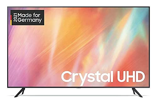 Samsung Crystal UHD 4K TV 43' (GU43AU7179UXZG), HDR, Q-Symphony, Boundless Screen [2021]