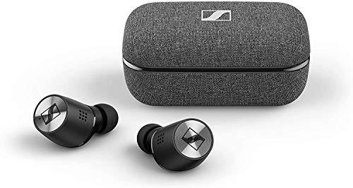 Sennheiser MOMENTUM True Wireless 2, Bluetooth-In-Ear-Kopfhörer mit aktiver Geräuschunterdrückung, schwarz
