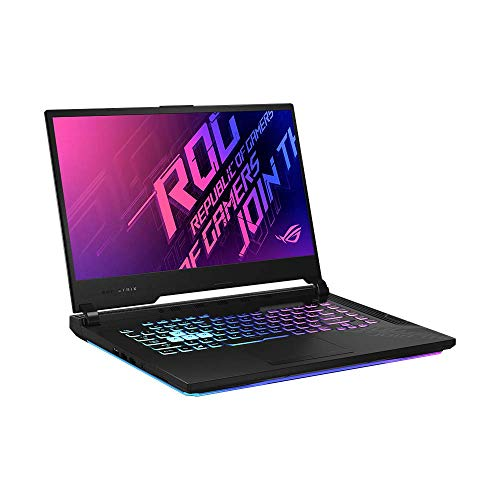 ASUS ROG Strix G15 (90NR04D1-M00930) 39,6 cm (15,6 Zoll, Full HD, IPS-Level, 240Hz) Gaming-Notebook (Intel Core i7-10750H, 16GB RAM, 512GB SSD, NVIDIA GeForce RTX2060 (6GB), Windows 10) Original Black