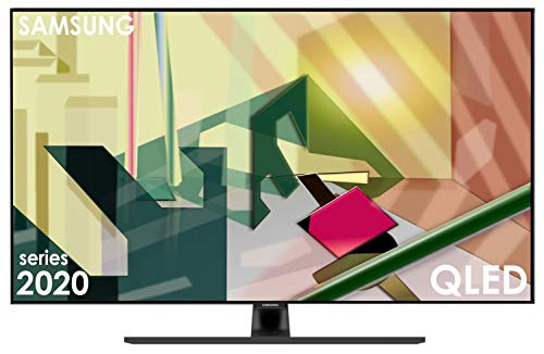 Samsung QLED 4K Q70T 189 cm (75 Zoll) (Quantum Prozessor 4K, Dual LED, Quantum HDR) [Modelljahr 2020] [Energieklasse A]