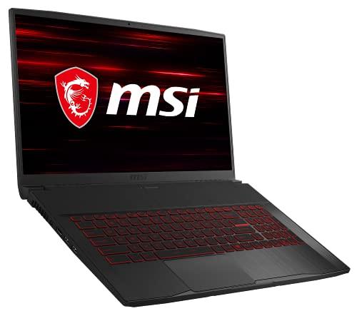 MSI GF75 Thin 10SC-067 (17,3 Zoll / 144Hz) Gaming-Laptop (Intel Core i7-10750H, 16GB RAM, 512GB SSD, Nvidia GeForce GTX1650 4GB DDR6 VRAM, Windows 10 Home)