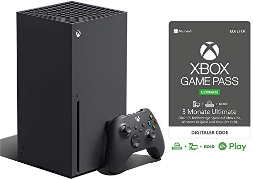Xbox Series X + Game Pass Ultimate (3 Monate Mitgliedschaft)