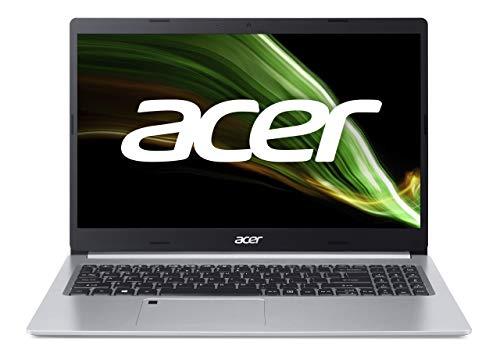 Acer Aspire 5 (A515-45-R6JZ) Laptop 15.6 Zoll Windows 10 Home - FHD IPS Display, AMD Ryzen 5 5500U Mobile-Prozessor mit Radeon Grafikeinheit , 16 GB DDR4 RAM, 512 GB M.2 PCIe SSD