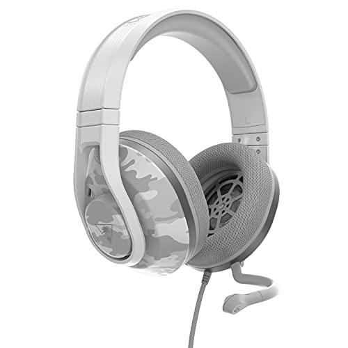 Turtle Beach Recon 500 Camo Polarweiß Kabelgebundenes, plattformübergreifendes Headset - PS5, PS4, PC, Xbox Series X S, Xbox One und Nintendo Switch