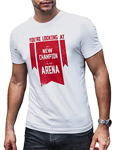 LeRage Champion of The Arena Shirt for Gamers Compatible with Apex Legends Tee Herren