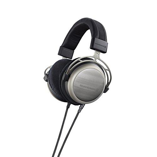 beyerdynamic T 1 (2. Generation) Over-Ear-Stereo Kopfhörer. Halboffene Bauweise, steckbares Kabel, High-End