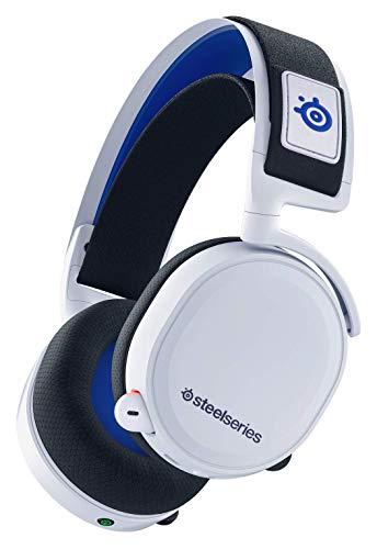 SteelSeries 61467 Arctis 7P Wireless - Verlustfreies kabelloses 2.4 GHz Gaming Headset - Für PlayStation 5 und PlayStation 4 - Weiß