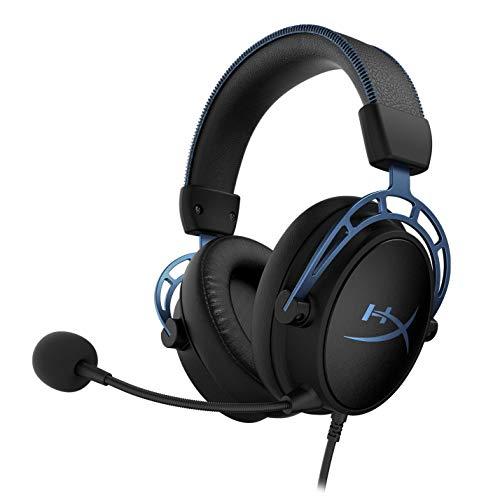 HyperX HX-HSCAS-BL/WW Cloud Alpha S - Gaming Headset mit HyperX Virtual 7.1 surround sound und verstellbarem Bass, Blue