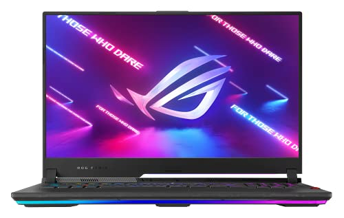 ASUS ROG Strix SCAR 17 G733QS 43,9 cm (17,3 Zoll, Full HD, IPS-Level, 300 Hz, matt) Gaming-Notebook (AMD R9-5900HX, 32GB RAM, 1TB SSD, NVIDIA GeForce RTX3080 (16GB), Windows 10) Black
