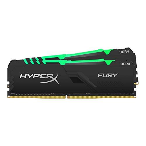 HyperX FURY HX432C16FB3AK2/64 Arbeitsspeicher 3200MHz DDR4 CL16 DIMM 64GB Kit (2x32GB) RGB