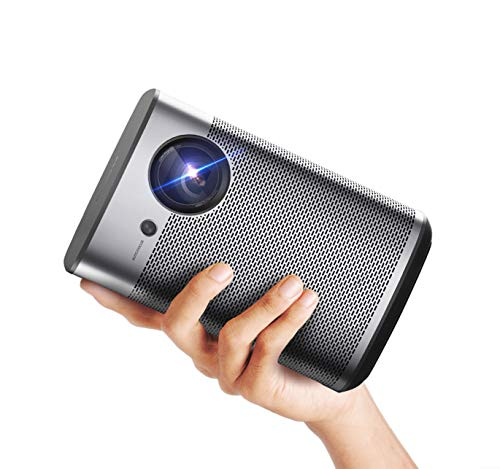 XGIMI Halo Beamer Android TV Full HD Mini 3D 1080P Smart Projektor 800 ANSI Lumen tragbare WiFi Bluetooth Lautsprecher Harman / Kardon Kleiner Heimkino Video-Beamer