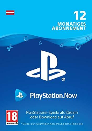 PlayStation Now - Abonnement 12 Monate (österreichisches Konto)   PS5/PS4/PS3 Download Code - österreichisches Konto