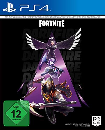 Fortnite Schattenfeuer Paket - Code in the box - enthält keine CD [PlayStation 4]
