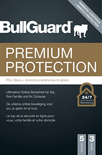 Bullguard Premium Protection - 3 Jahre 5 Geräte [Online Code]