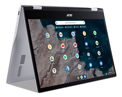 Acer Chromebook Spin 513 13 Inch FHD Touch 4GB/64GB eMMC ChromeOS CP513-1H-S72Y Silber