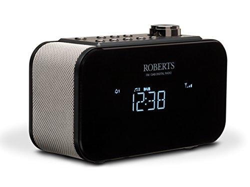 Roberts Radio Ortus 2 | FM/DAB+ Nachttischwecker | Schwarz