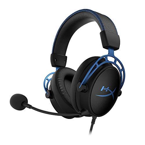HyperX HX-HSCAS-BL/WW Cloud Alpha S - Gaming Headset mit HyperX Virtual 7.1 surround sound und verstellbarem Bass