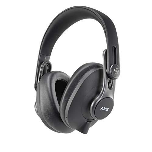 AKG K371-BT Erstklassige geschlossene Bluetooth-Kopfhörer, schwarz, K371BT
