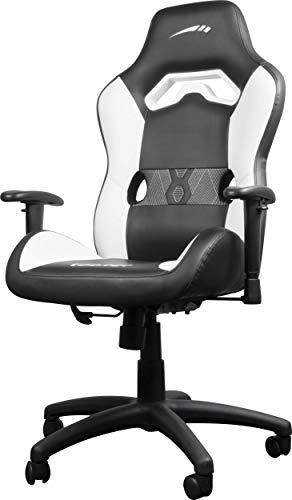 Speedlink Chair Looter Gaming Stuhl, Kunstleder, Schwarz/Weiß, 68.0 x 64.0 x 122.0 cm