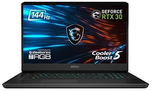 GP76 Leopard 10UE-022 17.3 Zoll FHD (1920*1080 Pixel /144 Hz) Gaming Notebook (Intel Core Comet Lake i7-10870H+HM470), NVIDIA GeForce RTX 3060 6 GB, 16 GB DDR4-3200 1 TB, Windows 10 Home