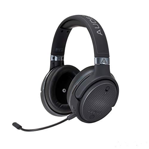 Audeze Mobius Premium 3D-Gaming-Headset mit Surround-Sound, Head Tracking und Bluetooth. Over-Ear-Gaming-Kopfhörer für PCs, PS4 und andere. V5 Firmware.