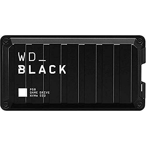 WD_BLACK P50 1 TB Game Drive SSD, mobiler Speicher für maximale Gaming-Leistung