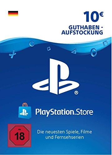 PSN Card-Aufstockung | 10 EUR | deutsches Konto | PSN Download Code