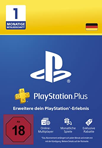 PlayStation Plus Mitgliedschaft | 1 Monat | deutsches Konto | PS5/PS4/PS3 Download Code