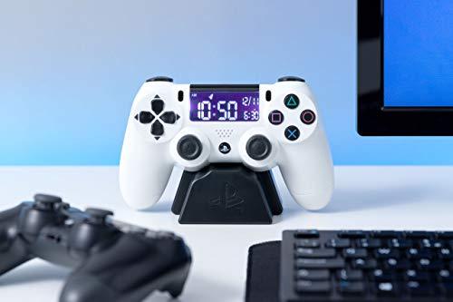 Playstation 4 Dualschock Wecker weiß
