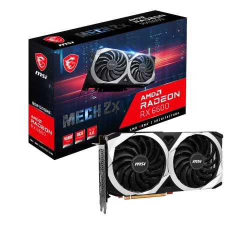MSI Radeon RX 6600 MECH 2X 8G