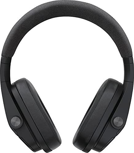 Yamaha Elektronik Europa YH-L700A kabelloser Over-Ear Kopfhörer mit 3D Sound Field schwarz – Advanced Active Noise Cancelling Kopfhörer mit 34 h Akkulaufzeit und Freisprechfunktion, normal