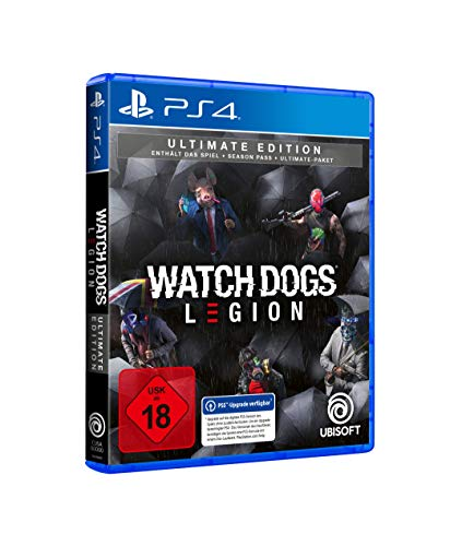 Watch Dogs Legion Ultimate Edition | Uncut - [PlayStation 4]