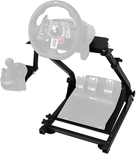 VEVOR G29 Lenkradständer für Logitech G27 G25 G29 und G920 Lenkrad Gaming Wheel Stand Racing Lenkradständer mit V2 Schalthebelhalterung Pedal Nicht Enthalten