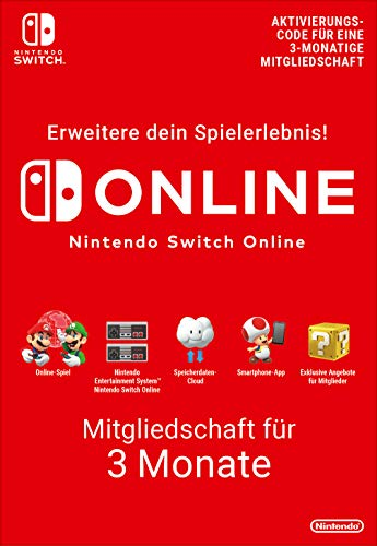 Nintendo Switch Online Mitgliedschaft - 3 Monate | Switch Download Code