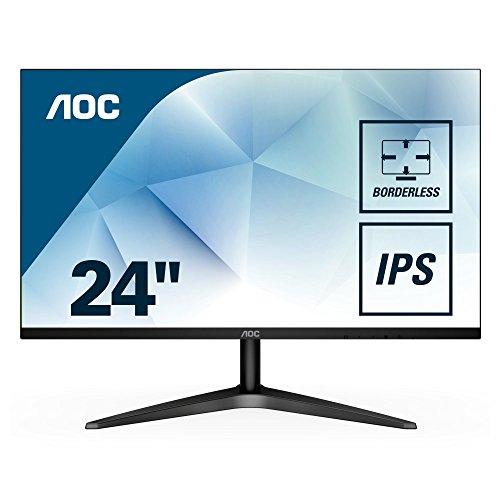 AOC 24B1XH 60,4 cm (23,8 Zoll) Monitor (VGA, HDMI, 5ms Reaktionszeit, 60Hz, 1920x1080) schwarz